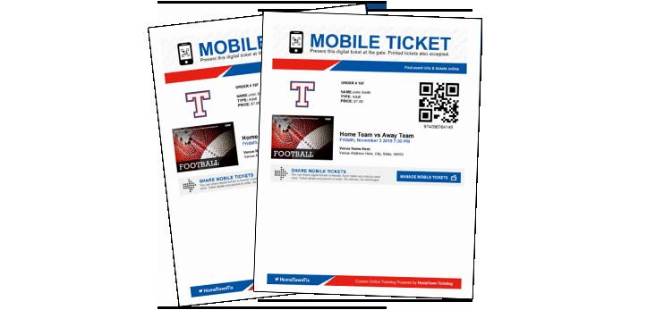 Digital Game Tickets