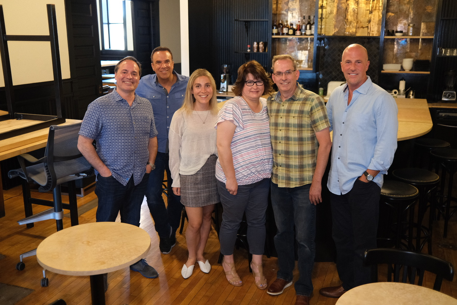 Photo of the VNN Executive Team and WPA Network Co-Owners at VNN's Minneapolis Office